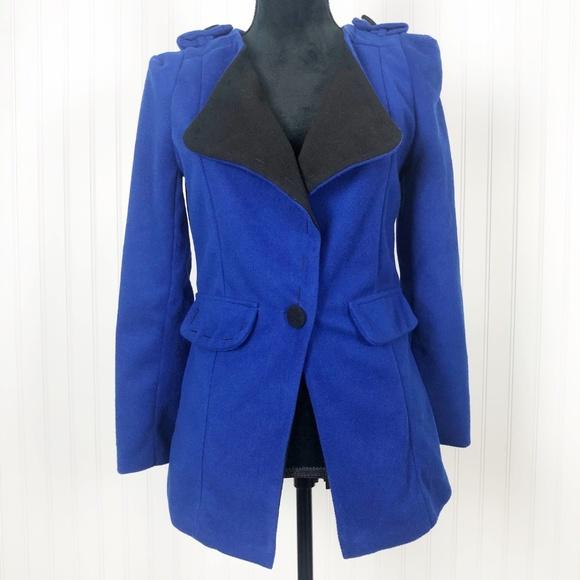 William Rast Jackets & Blazers - William Rast Wool Single Button Jacket
